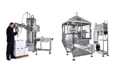 Filling machines - automatic and semi-automatic