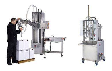 Semi-automatic filling machines
