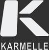 Karmelle logo - white