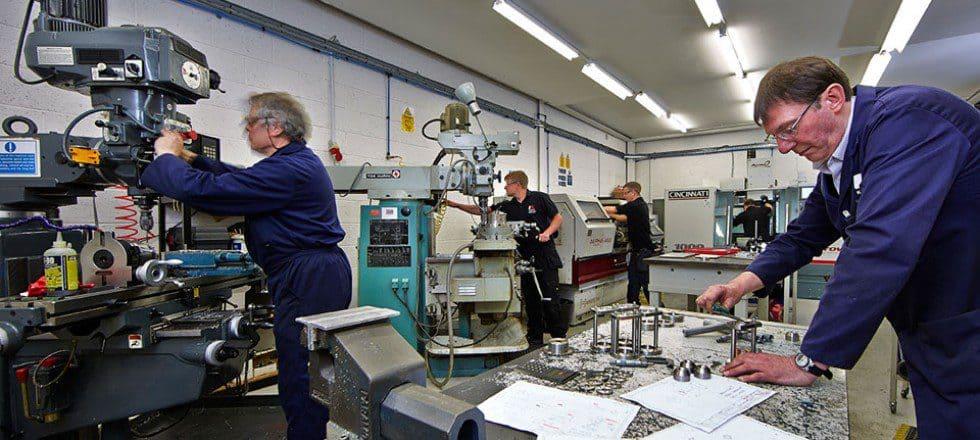 machining room
