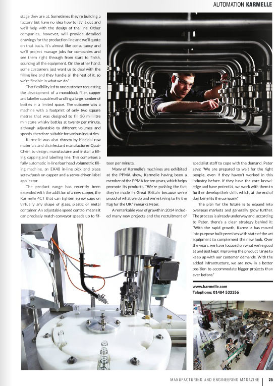 Manufacturing and Engineering Magazine Issue 415: A Complete Solution