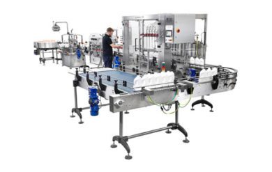 Complete lines – filling, capping and labelling