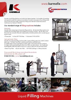Karmelle Liquid Filling Machines brochure