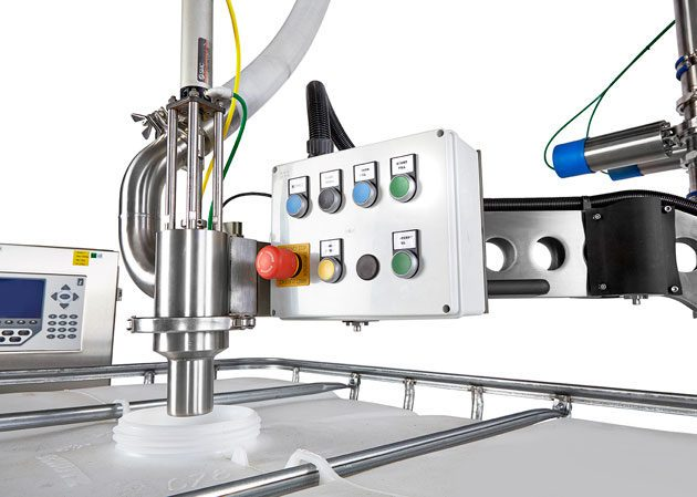 Flowmeter and Volumetric IBC filler