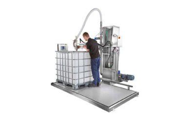 Flowmeter and Volumetric boom arm fillers
