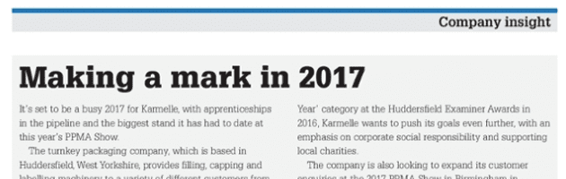 Karmelle - Making a mark in 2017